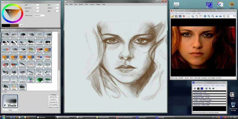MyPaint free drawing software