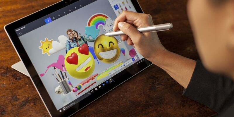 Microsoft Paint 3D free drawing software