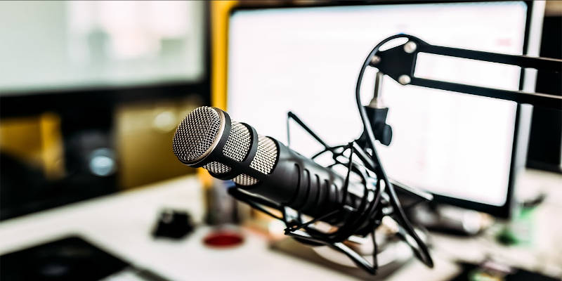 Podcast Software Microphone