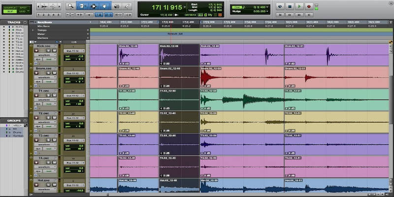 Pro Tools podcast editing software