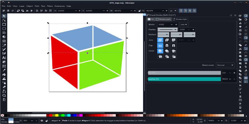 Inkscape Graphic Design Example