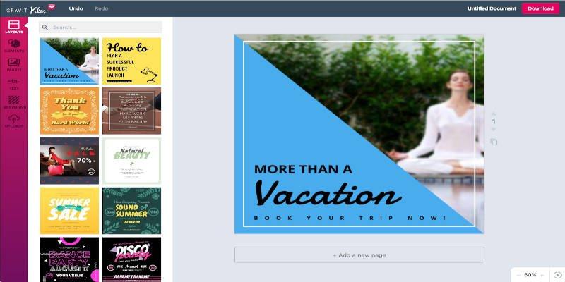 Klex Graphic Design Software