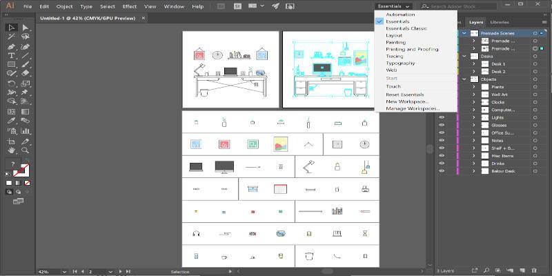 Adobe Illustrator Graphic Design Software