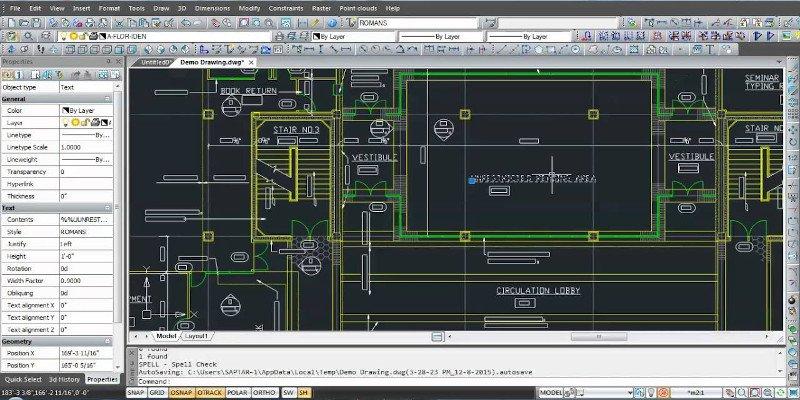 nanocad 2d cad drawing software