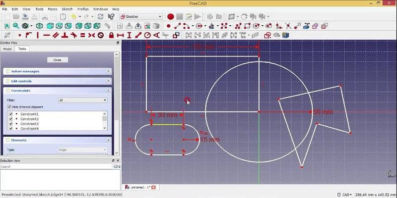 freecad one of the best 2d cad software for free