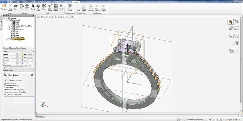 Firestorm CAD jewelry design software